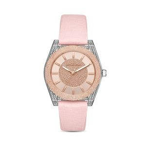 NWT Michael Kors Channing Silicone Watch